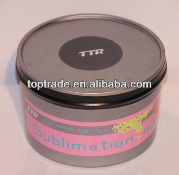 offset sublimation ink with high disperse pigment content