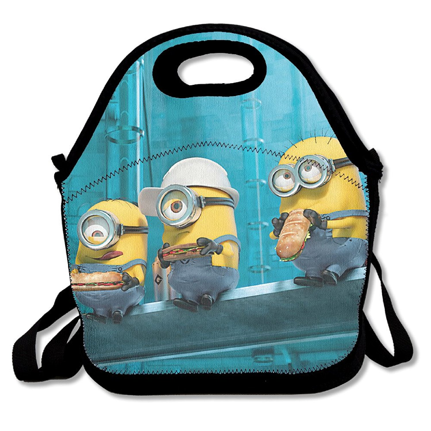 Despicable Me 3 Movie Collection Travel Tote Lunch Bag