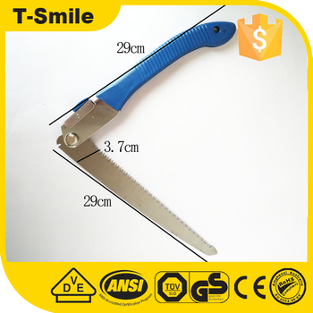 Hand Spike Garden Outdoor Folding Pruning Blue Saw For Cutting Wood