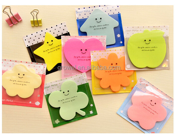 cheap custom heart shaped sticky notes in different shapes buy