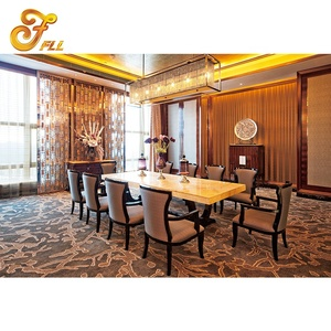 hotel dining room furniture wooden restaurant dining tables and chairs set