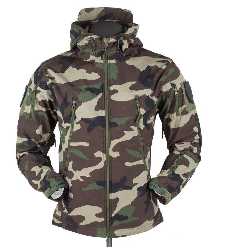 Hiking Jackets Hiking Clothings Trend Mark Outdoor Mens Tad V4softshell Hunting Camo Jackets Waterproof Hiking Camping Jacket Army Military Tactical Windproof Windbreaker
