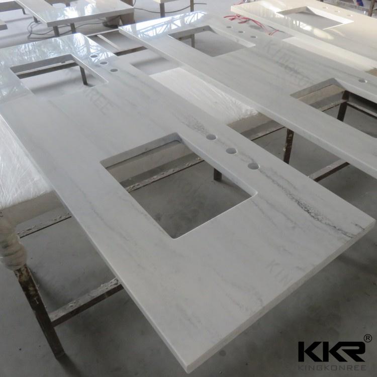 Prefabricated Bathroom Countertops: متكاملة بالوعة كونترتوب الحمام/الحمام الغرور الأعلى