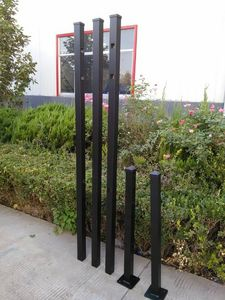 Round Aluminum Fence Post, Round Aluminum Fence Post