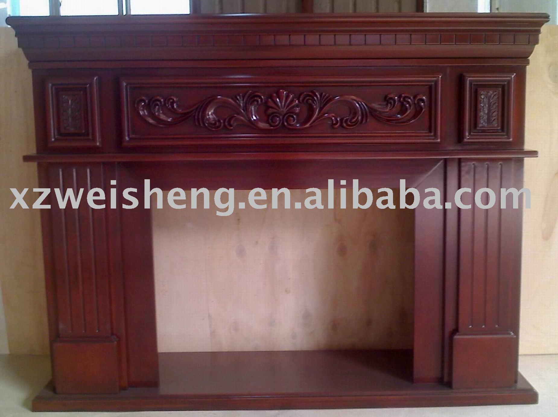 Repisa de la chimenea de madera chimeneas identificaci n for Chimeneas de madera