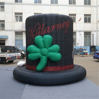 Outdoor decoration events magician top hat competition decorated giant inflatable circus hat for Circus Carnival