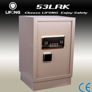 Electronic safe locker and safe cabinet for keeping money and files