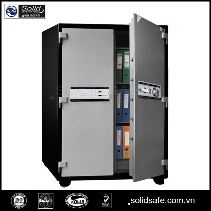 Fireproof Doent Office Bank Safe Two Door Product On Alibaba