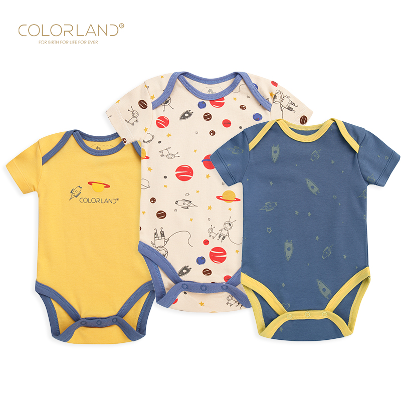 Amazon hot sell infant clothes baby romper with short slvees, As picture/customized