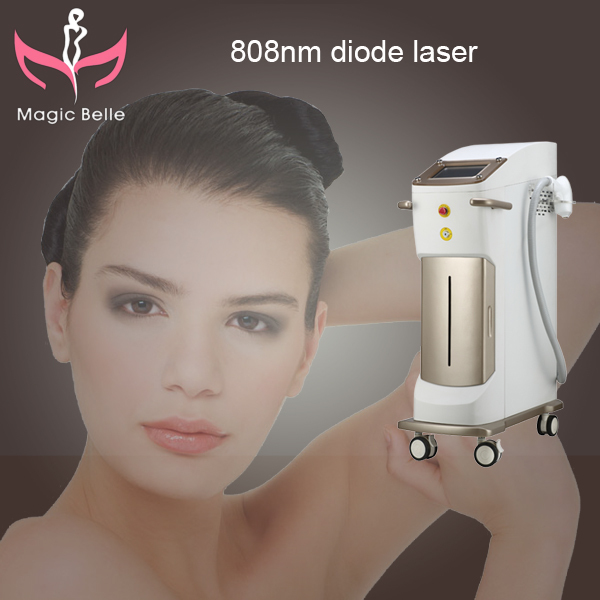 Russia sell like hot cakes!!! 808nm diode laser hair removal machine/CE/Beauty Equipment