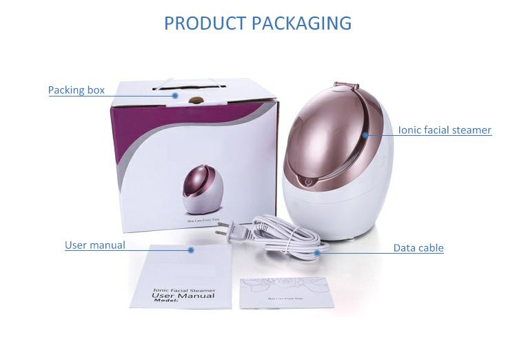 Buen precio, portátil salón de belleza Personal Mini y cara de Vapor ozono Facial iónica de Vapor