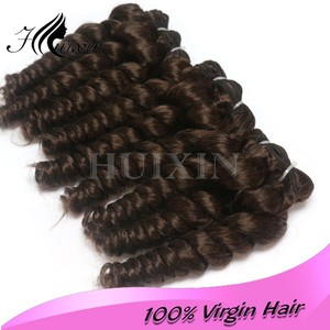 French style romance 100% human hair little brown human hair romance curl human hair