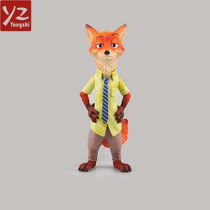 19Cm Resin Hot American Animation Movie Zootopia Character Nick Wilde Figure