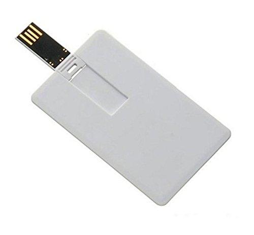 Flash Drive Plastic Credit Card Bank Card Shape USB 2.0 128 GB
