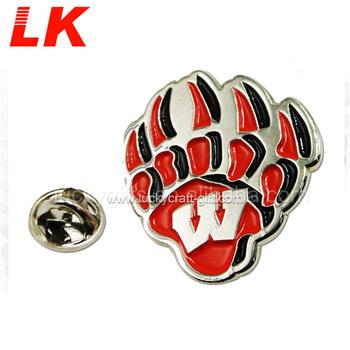 China Manufacturer Direct Custom Soft Enamel Silver Metal hot air balloon Lapel Pins