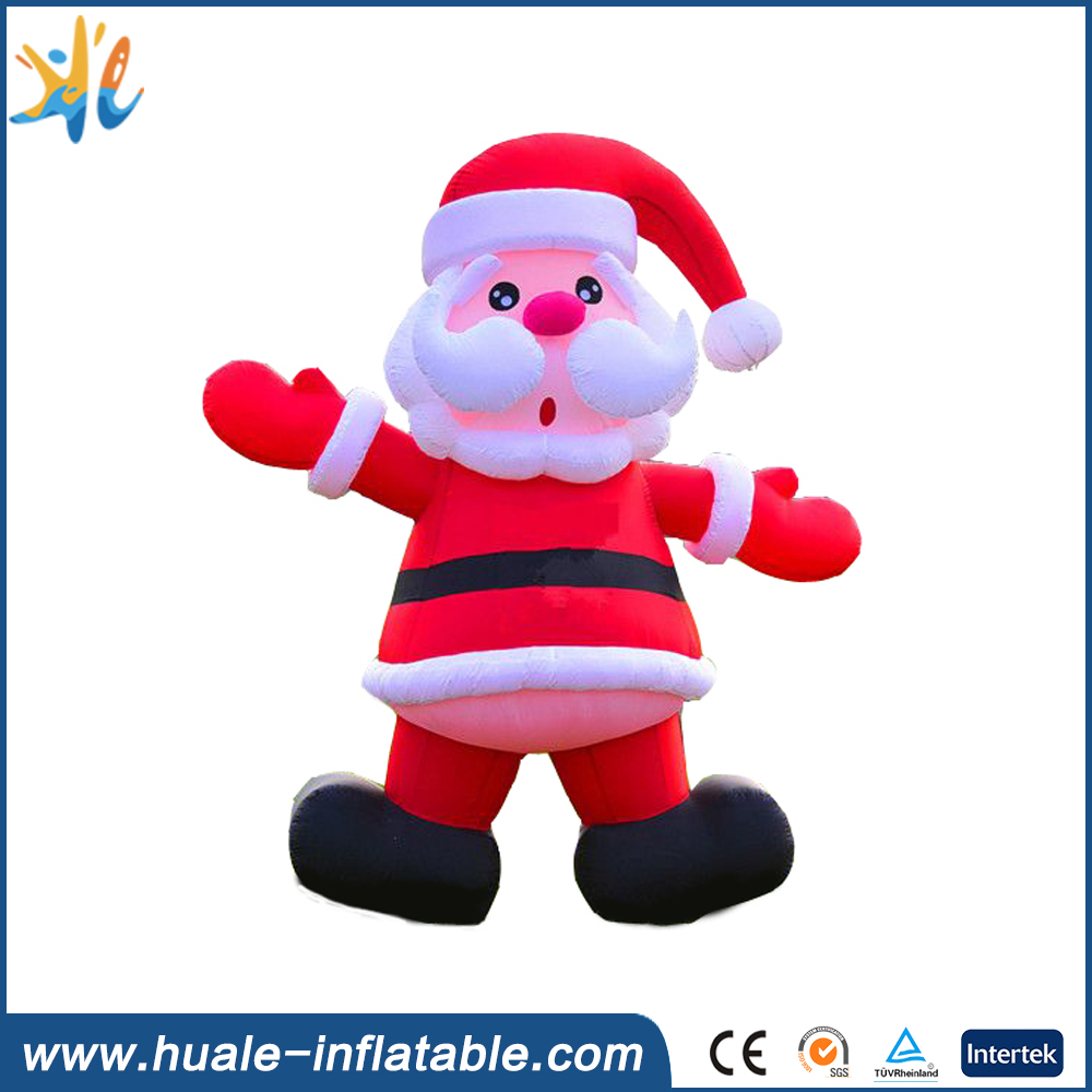 10m/32ft outdoor advertising inflatable santa/claus/model/christmas advertising claus