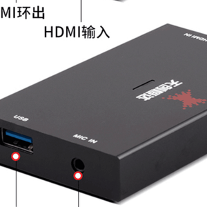 Hot selling plug&play game capture 4K hdmi to usb 4K HDMI output video grabber