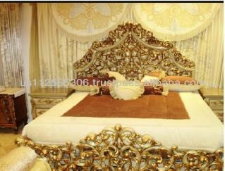 Di legno intagliato a mano camera da letto camera da letto classico