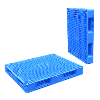 Heavy duty large stackable double sided face HDPE warehouse euro plastic pallet price