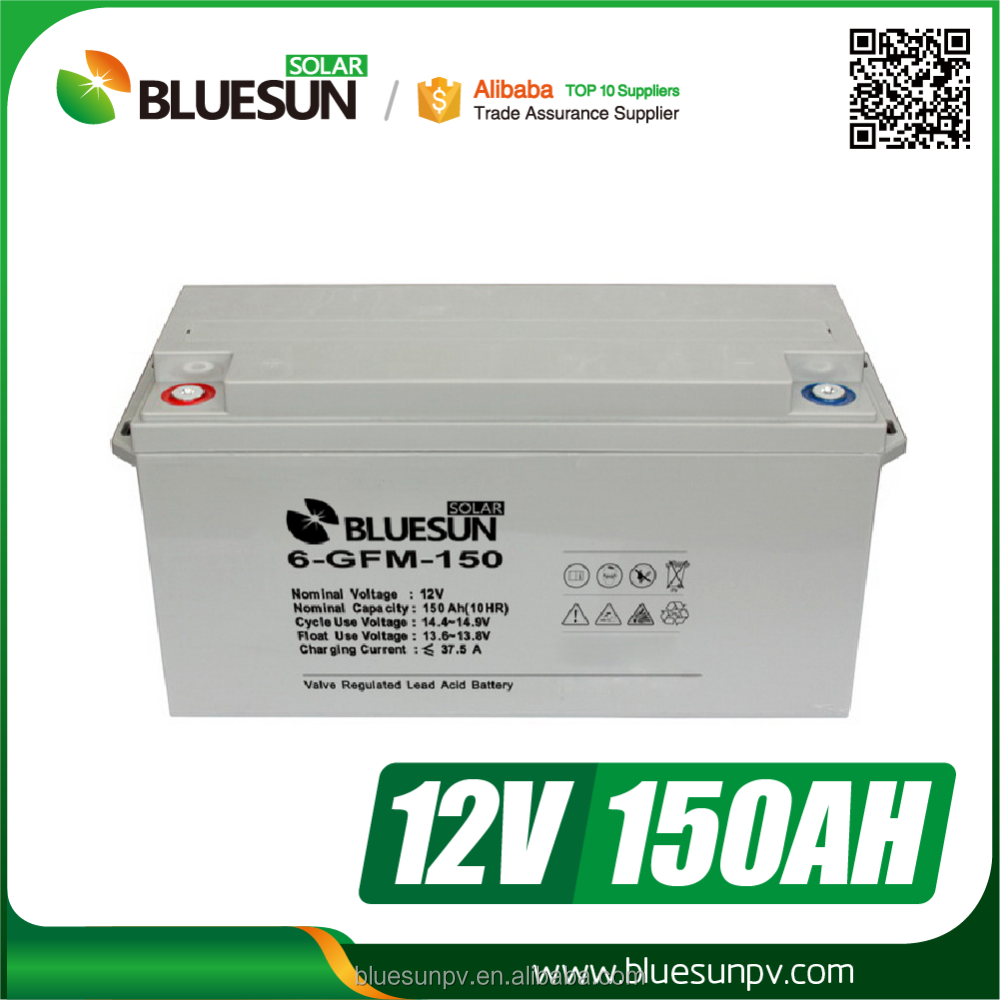 Best quality 12v 150ah car battery solar battery with long life