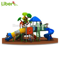 Nature Tree Children Indoor Playground Equipment Games, Outdoor Used Amusement Play Park Slides