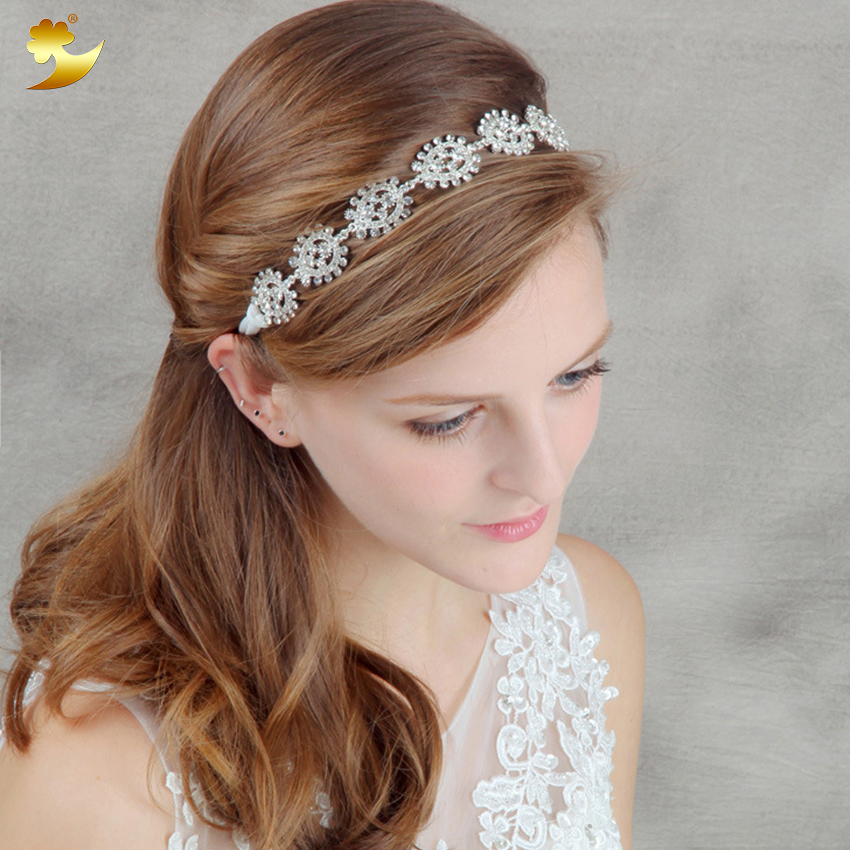 Wholesale bridal hair accessories wedding accessories rhinestones hair jewelry for bride