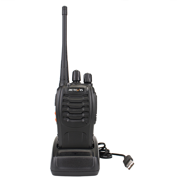 Retevis H777 5W Walkie Talkie 16CH UHF CTCSS/DCS Handheld portable Two Way Radio manual public network Wireless <strong>communication</strong>