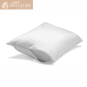 White Color Waterproof Pillow Cover