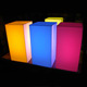 Stacking Muitiple LED Color Changing Cubes Colored Acrylic Cubes Light Box