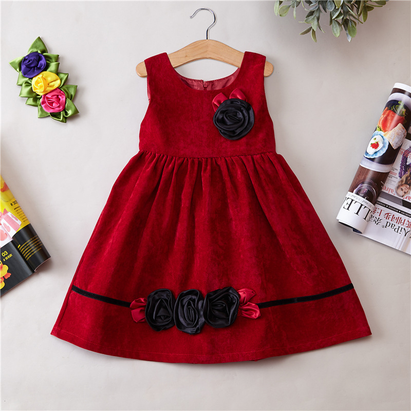 fashional latest new styles hot selling design cheap price baby dress girls