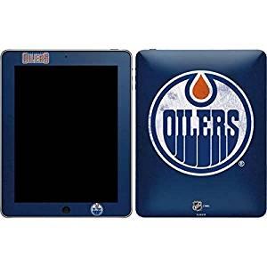 NHL Edmonton Oilers iPad Skin - Edmonton Oilers Distressed Vinyl Decal Skin For Your iPad