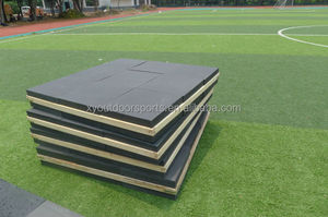 9 Blocks Durable XPE Foam 129*129*20cm Competition Archery Target For Outdoor Shooting or Big Sports Events