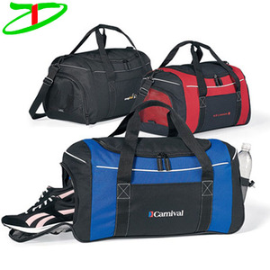 promotional with your own logo travel bag, wholesale custom sports gym bag