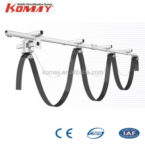 Komay factory price festoon cable trolley cable carrier