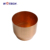 Wotech metal spinning small outdoor copper brass flower planter