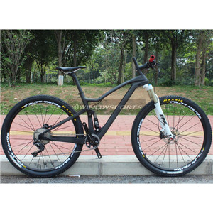 2017 Superlight MTB suspension XC 29er Complete Carbon Fiber T800 Frame Carbon Bicycle Mountain Bike 29er
