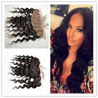 100% unprocessed hair closures lace lace frontal virgin hair wedding hair accessories