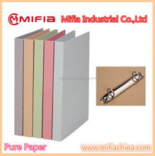 office school stationery fc a4 paper file ring binder folders with Custom 2,3,4,23metal rings