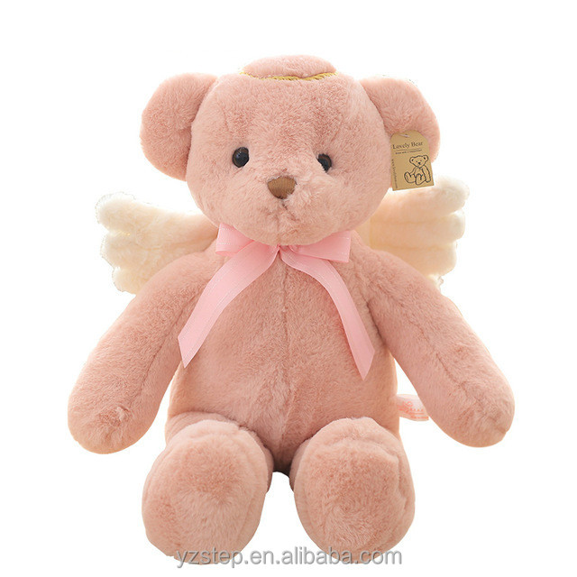 55cm Angel Teddy Bear Plush Kids Toys Kawaii Stuffed Doll /Soft Baby Toys for Girl
