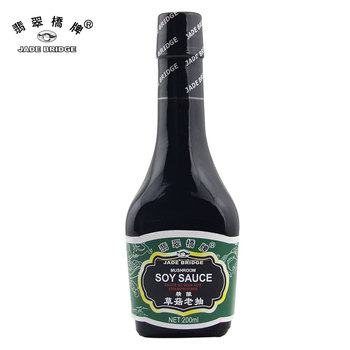 Traditional Chinese Mushroom Soy Sauce for Retail 200ml