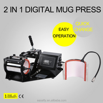 Hot Sale! Economic Digital 2 In 1 Mug Heat Press,Mug Transfer Machine (ce  Approval) - Buy 2 In 1 Digital Mug Heat Press,Mug Printing Machine,Mug