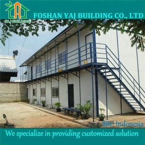 Fast install India site office building
