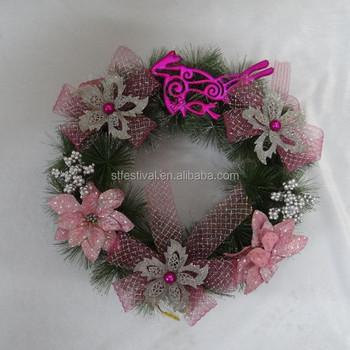 2015 Wholesale Mini Artificial Christmas Wreaths Cheap - Buy Mini ...