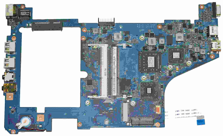MB.SBB01.006 Acer Aspire 721 Netbook Motherboard w/ AMD K125 CPU, 55.4HX01.011, SJV10-NL, 09928-2, 48.4HX01.021