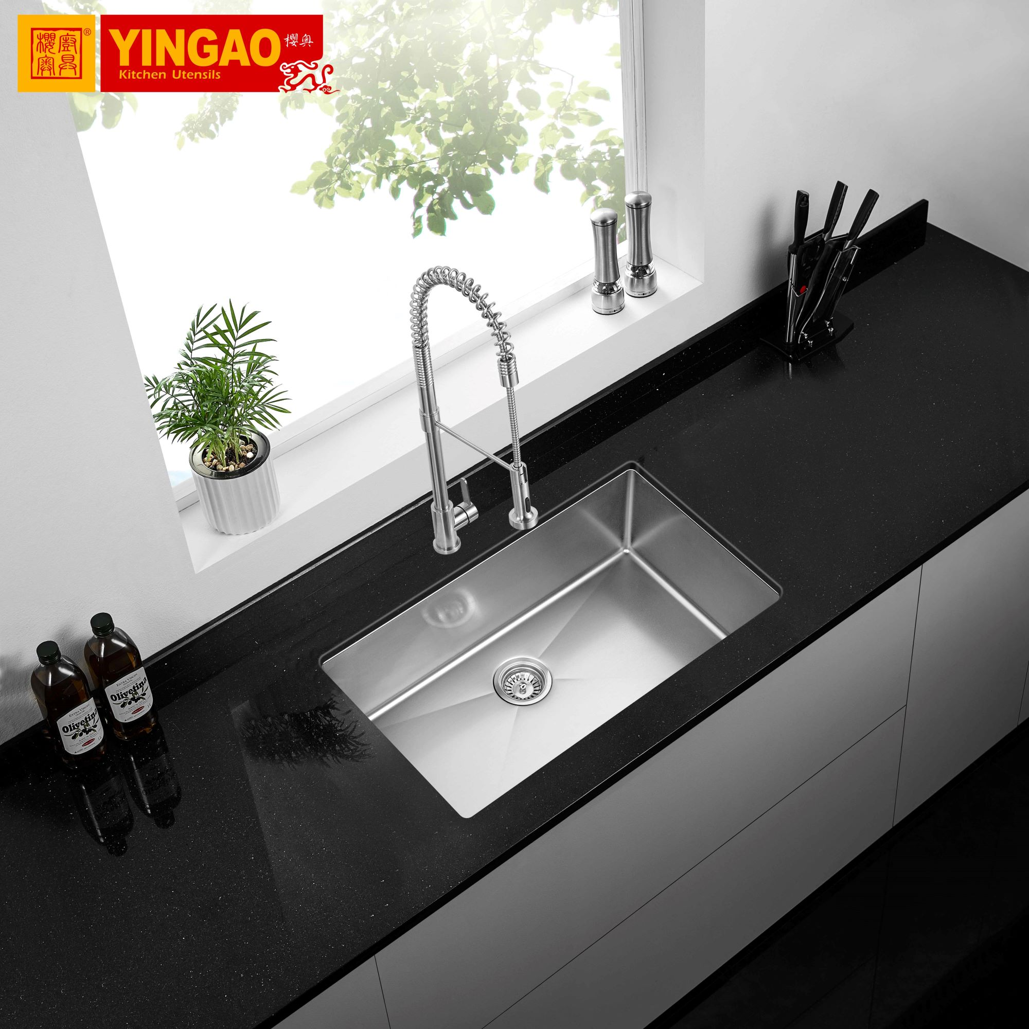Standard Size Flexible Stainless Steel Sus 304 Single Bowl Kitchen Sink View Rv Sinks Oem Product Details From Guangdong Yingao Kitchen Utensils Co Ltd On Alibaba Com
