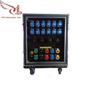 36 channels power distribution box with 4 Channels 19 pin socket.