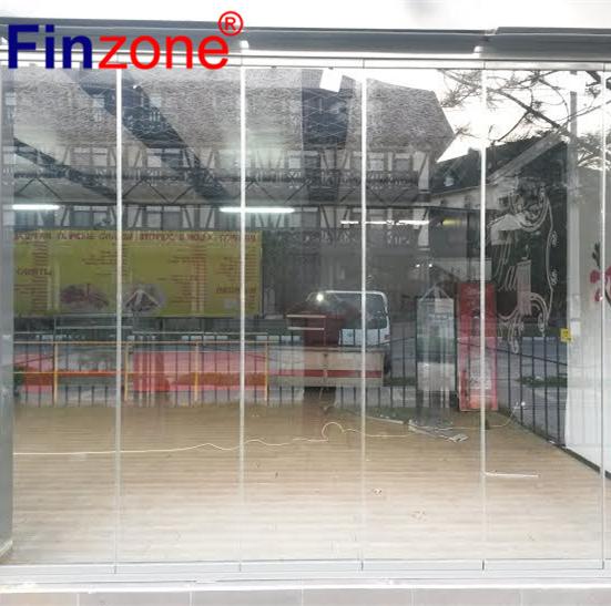 Frameless Folding Glass Doors Exterior Frameless Folding Glass