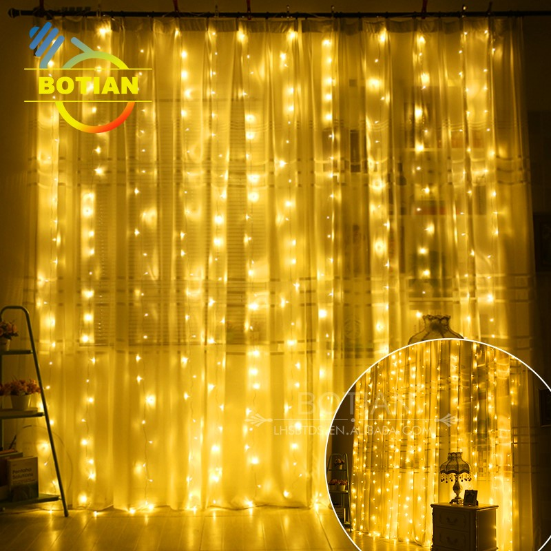 China flexiable decorative fairy christmas led light curtain