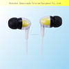 2016 new Transparent Earbud In-ear Earphones for MP3 Players