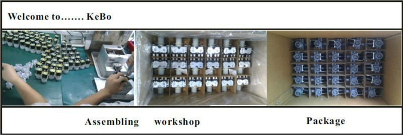 Water solenoid valve for coffee machine